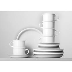Thomas Porzellan Kaffeeservice Trend (18-tlg), Porzellan, Mikrowellengeeignet