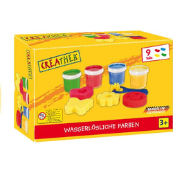 Creathek Fingerfarben 4er Pack á 150g 63309508