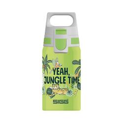 Sigg Trinkflasche Edelstahl-Trinkflasche SHIELD ONE Space, 500 ml grün