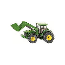 SIKU John Deere Traktor mit Frontlader 1:50