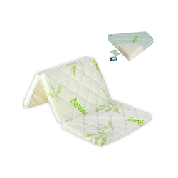 Kindermatratze Faltbare Matratze Air Comfort Bambus, Lorelli, 6 cm hoch, 120 x 60 x 6 cm, Belüftungssystem