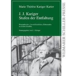 J. J. Kariger Stufen der Entwicklung als Buch von Marie Th. Kariger-Karier
