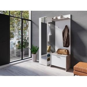 Homexperts Garderoben-Set Benno, (Spar-Set, 3-St) weiß