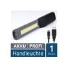 M LINE M Line LED Arbeitsleuchte LED Werkstattlampe mit Magnet - Profi 2in1 Akku Inspektionsleuchte mit 200 Lumen - Arbeitsleuchte aufladbar über USB, robust, handlich - Arbeitslampe Werkstattleuchte Arbeitslicht