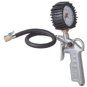 Güde Druckluft Reifenfüller Luftdruckprüfer Reifendruckfüller für Kompressor