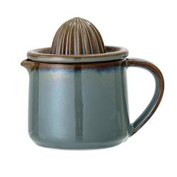 Bloomingville 2in1 Zitruspresse Zitronenpresse Pixie, Keramik, 350ml, manuelle Obstpresse, Orangenpresse, Saftpresse, dänisches Design
