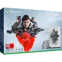 Microsoft Xbox One X 1TB grau + Gears 5 Limited Edition (Bundle)