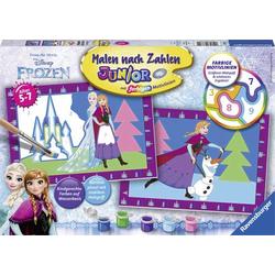 Ravensburger Malen nach Zahlen Junior - Die Eiskönigin