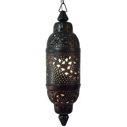Guru-Shop Laterne Metall Deckenleuchte in marrokanischem Design,..