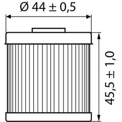 Hi-Q Ölfilter Einsatz OF154 für Husqvarna/SWM