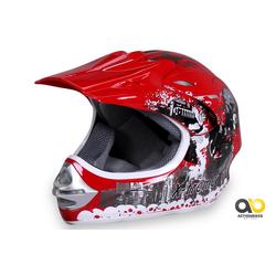 Actionbikes Motors Motocrosshelm X-treme Rot M - 53 cm - 54 cm
