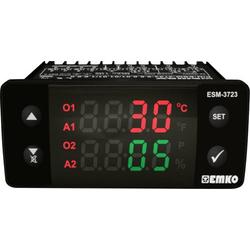 Emko ESM-3723.2.2.5.0.1/01.01/1.0.0.0 2-Punkt und PID Regler Temperaturregler PTC 0 bis 100°C Relai