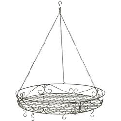 Hängekorb Deckenkranz Antik, Ø 60 cm