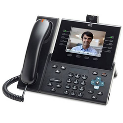 Cisco CP-9951-CL-K9= IP-Videotelefon Farbdisplay Grau