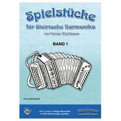 Michlbauer Spielstücke für Steirische I + CD MICHLBAUER-EC3024