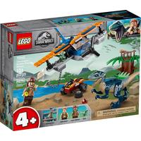 Lego Jurassic World Velociraptor: Rettungsmission mit dem Doppeldecker 75942