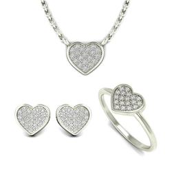 Diamant-Kollektion in Herzform Fia
