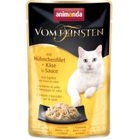 Animonda Vom Feinsten mit Hühnchenfilet & Käse in Sauce 18 x 50 g