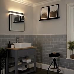 Onega LED Wandleucht für Badezimmer, von Hudson Reed