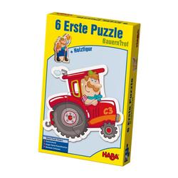 Haba Puzzle Erstes Puzzle Bauernhof, 12 Puzzleteile