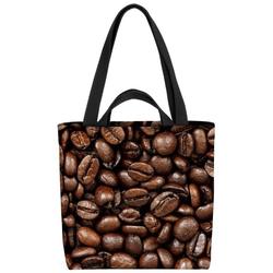 VOID Henkeltasche (1-tlg), Kaffeebohnen Kaffee Kaffee Cafe Bohnen Maschine Kaffeemaschine Italien