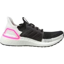 adidas Ultraboost 19 black-white-pink/ white, 40.5