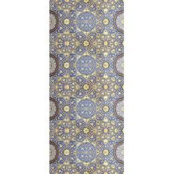 MySpotti Spritzschutz fresh F2 Arabesque Fliese, 90 x 210 cm