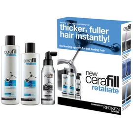Redken Cerafill Retaliate 290 ml + Conditioner 245 ml + Dense FX Treatment 125 ml Geschenkset