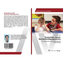 Evaluation zweier Rechtschreibprogramme als Buch von Florentine Paudel