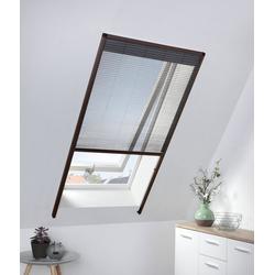 HECHT Insektenschutz-Dachfenster-Rollo braun/anthrazit, BxH: 80x160 cm grau Dachfenster