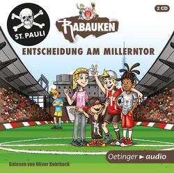 FC St. Pauli Rabauken als Hörbuch CD von Tina Blase