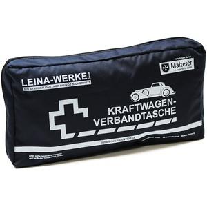 Leina-Werke 11101 KFZ-Verbandtasche Elegance, Blau/Weiß