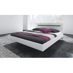 Bett Hektor weiß 186 cm x 205 cm x 92 cm