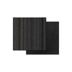 Teppichfliese Krakau, Kubus, quadratisch, Höhe 6 mm schwarz