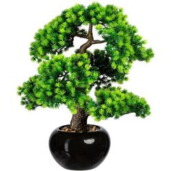 Kunstbonsai Bonsai Lärche Bonsai Lärche, Creativ green, Höhe 48 cm, im Keramiktopf