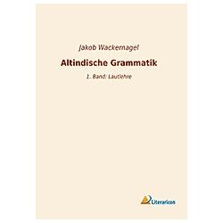 Altindische Grammatik - Buch