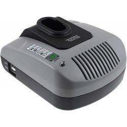 Powery Powery Akku-Ladegerät mit USB für Bosch Astsäge ASG52, 7,2V-18V