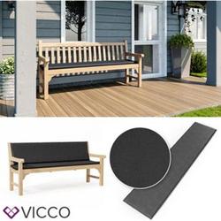 VICCO Bankauflage 180x40x5cm Bankpolster Gartenbank-Auflage Sitzpolster Auflage