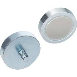 Haltemagnet GN 50.3 d1 20 ± 0,1mm d2 M 6mm Neodym,Eisen,Bor ND GANTER