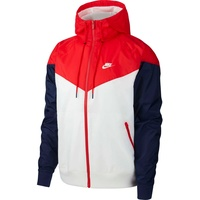 Windrunner Jacke M white/university red/midnight navy/white L