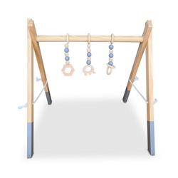 Coemo Spielcenter, (4-tlg), Baby Gym Aktivcenter Holz