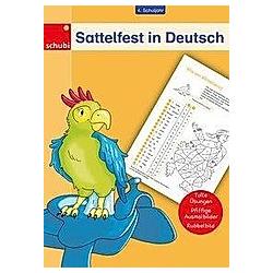 Sattelfest in Deutsch  4. Schuljahr - Buch