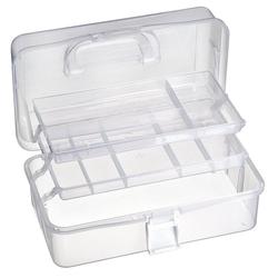 VBS Aufbewahrungsbox, Kunststoff, mit Griff, 32 cm x 32 cm x 14 cm