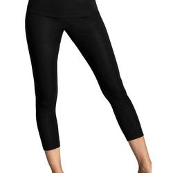 Damen langbein Unterhose Wool-Silk Cybèle Schwarz