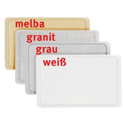 Tablett EASY Euronorm EN 1/1, Farbe: melba, aus glasfaserverstärktem