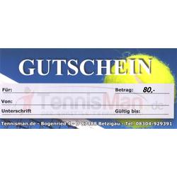 Gutschein 80,- Euro