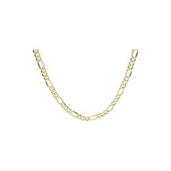 Luigi Merano Goldkette Figarokette 3/1, Breite ca, 5mm, Gold 585