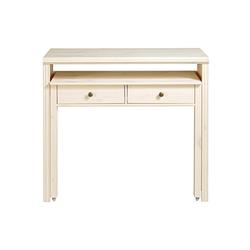 Schreibtisch oder Konsole weiß ca. 88/60/38-69 cm