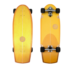 Slide Surfskateboard Quad Sunset 30