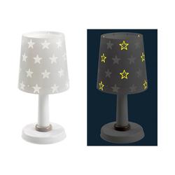 Dalber Nachttischlampe Tischlampe STARS, Glow in the dark, grau grau